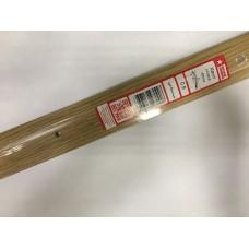 Кант полукруглый 40мм 0,9 Дуб светлый