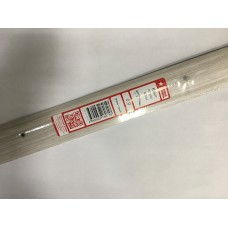 Кант полукруглый 40мм 0,9 Ясень серый