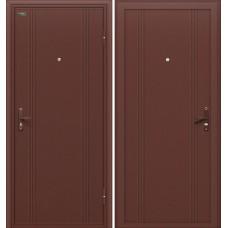 Дверь металлическая Door Out 101 205*88 Левая 3-1, 60, Антик Медь