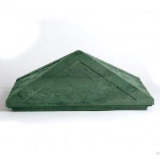 Колпак полимерпесчаный зеленый 440*440*160мм