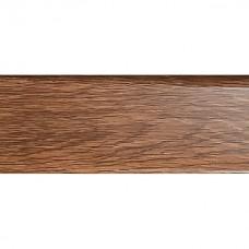 Заглушка для плинтуса левая ПВХ РОЙС 80мм 15шт 335 Дуб викторианский