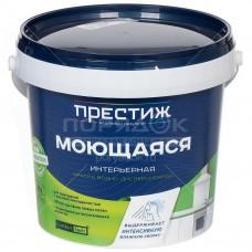 Краска в/д Престиж моющая 1,4кг (супербелая)