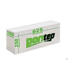Блоки газобетон D500 625*250*100 Поритеп (120шт/1,875м3)
