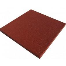 Плитка резиновой крошки 500*500*40 Теракотовая