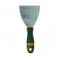 Шпатель нерж сталь двухкомпонентная ручка 450 мм. Варяг