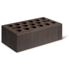 Кирпич лицевой керамический пустотелый утолщенный Бархат шоколад М150 250*120*88
