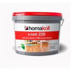 Клей Хомакол 228 ведро 14кг для бытового линолеума, водно-дисперсионный