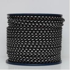 Канат полипропиленовый плетеный 10мм. 24пр.(100м.) син/серый