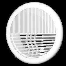 12,5РПКФ Решетка вентиляц круглая разьемная d164 с фланцем