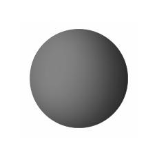 Демпфер настенный ПВХ Грейс d60 серый (2шт)