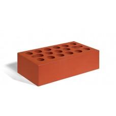 Кирпич лицевой керамический пустотелый одинарный гладкий красный М150 250*120*65