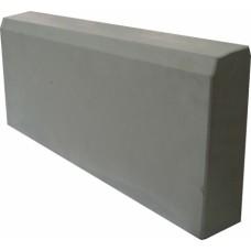 Бордюр тротуарный 1000*200*80 (сух/прес) серый