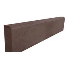 Бордюр тротуарный 500*200*80 (сух/прес) шоколадный