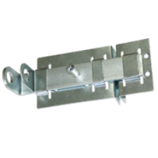 Задвижка дверная 3Д-04 цинк СВ