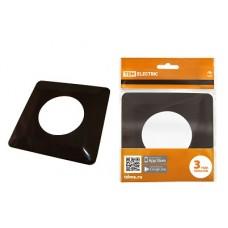 Защитная рамка TDM для защиты обоев 130*130мм шоколад 1822-0004