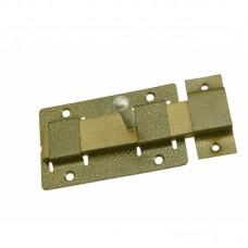 Задвижка дверная 3Д-02 пол. бронза СВ