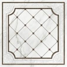Напольная вставка Capella белая (CP6R052DT) 420x420 Церсанит