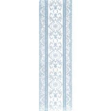 Бордюр Шамони голубой 250*75 Грация