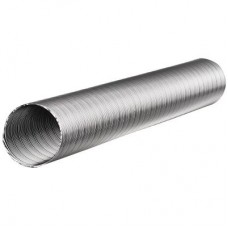 Газоход гофрированный d-125мм L 1.0м (сталь)