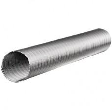 Газоход гофрированный d-125мм L 1.5м (сталь)