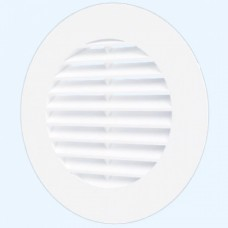 10RКL Решетка вентиляц.круглая D125 с фланцем D100