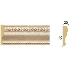 Профиль интерьерный Пенополистирол Грейс 60*20  2,4м. Дубай ПИ60Д