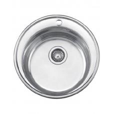 Мойка Ledeme L65151-6 d 510 круглая с сиф. лайт 0,6мм
