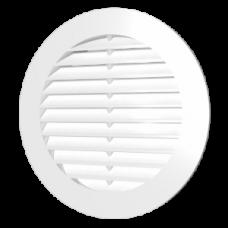 16РК Решетка вентиляц.круглая D200 вытяжная АБС