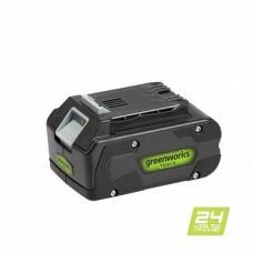 Аккумулятор GREENWORKS 24В 4,0Ач Li