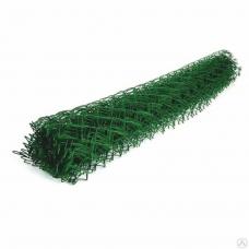 Сетка рабитца ПВХ зеленая из оц.пр. 50*50 d-2,2мм 2*10м