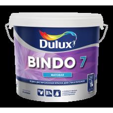 Краска в/э BINDO № 7 BW Acomix матовая для стен и потолков 4,5л. Dulux
