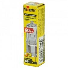 Лампа Navigator NH-JCD9-60-230-G9/CL 230V 60W 94216