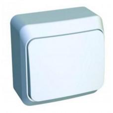 Выкл. Electric-001В 1-клав. ОП белый ВА10-001B
