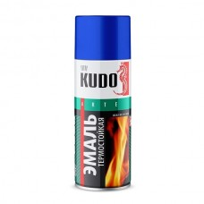 Эмаль термостойкая 520мл Серая KU-5001