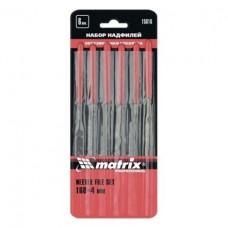 Набор надфилей 160*4мм (уп.6шт) обрез. ручки Матрикс