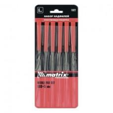 Набор надфилей 180*5мм(уп. 6шт) пластик. ручки  Матрикс