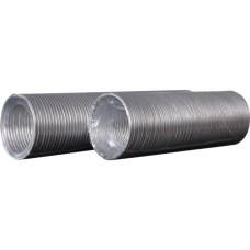Воздуховод гибкий алюминиевый гофрированный L до3м, 12,5ВА
