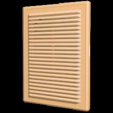 1515Р беж Решетка вентиляц, вытяжная АБС 150*150