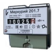 Счетчик меркурий 201.7 5(60)А ОУ 1 тариф