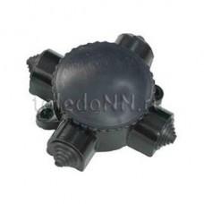 Коробка ОП 4-х рож. карболит У-409 с/ф  кэм2-660-4