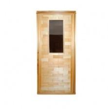 Дверь Банная со стеклом англичанка 1700*700 сорт О