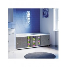 Экран к ванне 1,5м Декор Орхидея 037Н