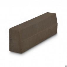 Бордюр тротуарный 1000*200*80 (сух/прес) шоколад