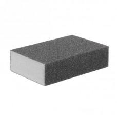 Губка шлифовальная 4-сторонняя P60 100*70*25Бибер