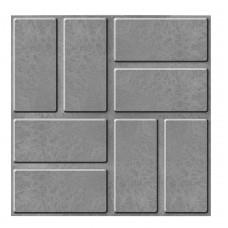 Плитка тротуарная полимерпесчаная серая 33*33*25
