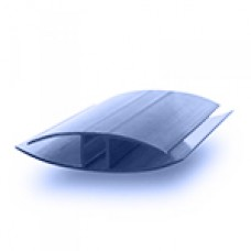 Соединительный профиль неразьёмный НР 4-6мм Синий 6м