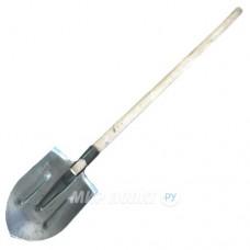 Лопата штыковая S506-2A Остроконечная рельсовая сталь  в сборе