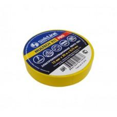 Изолента Safeline 19мм*20м жёлтая
