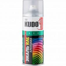 Краска аэрозоль для кровли KUDO 520мл. Шоколадно-Коричневый KU-08017