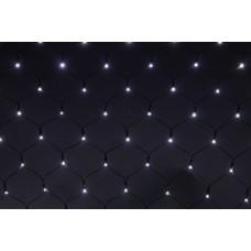 А-010АR WT-белый Сетка светод. 1,5*2м 320л-LED провод черный